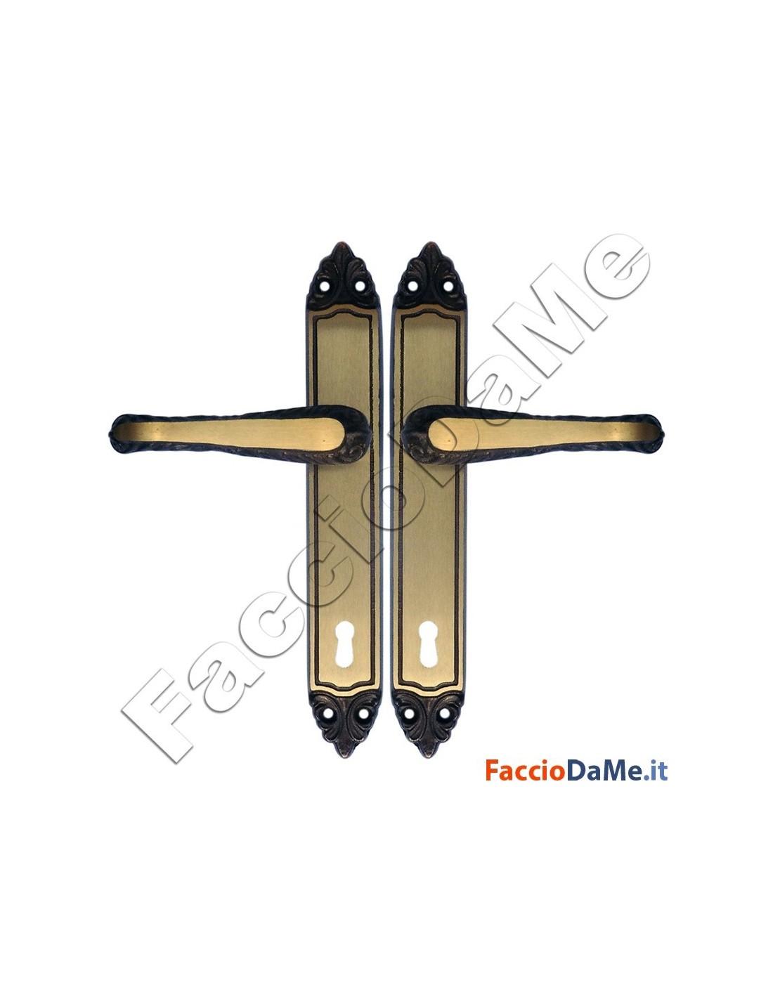 Maniglie cremonesi per porte e finestre serie erica in - Maniglie porte ottone ...