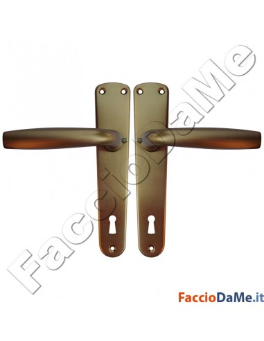 Maniglie Cremonesi per Porte e Finestre Serie Standard in Alluminio Anodizzato Bronzo