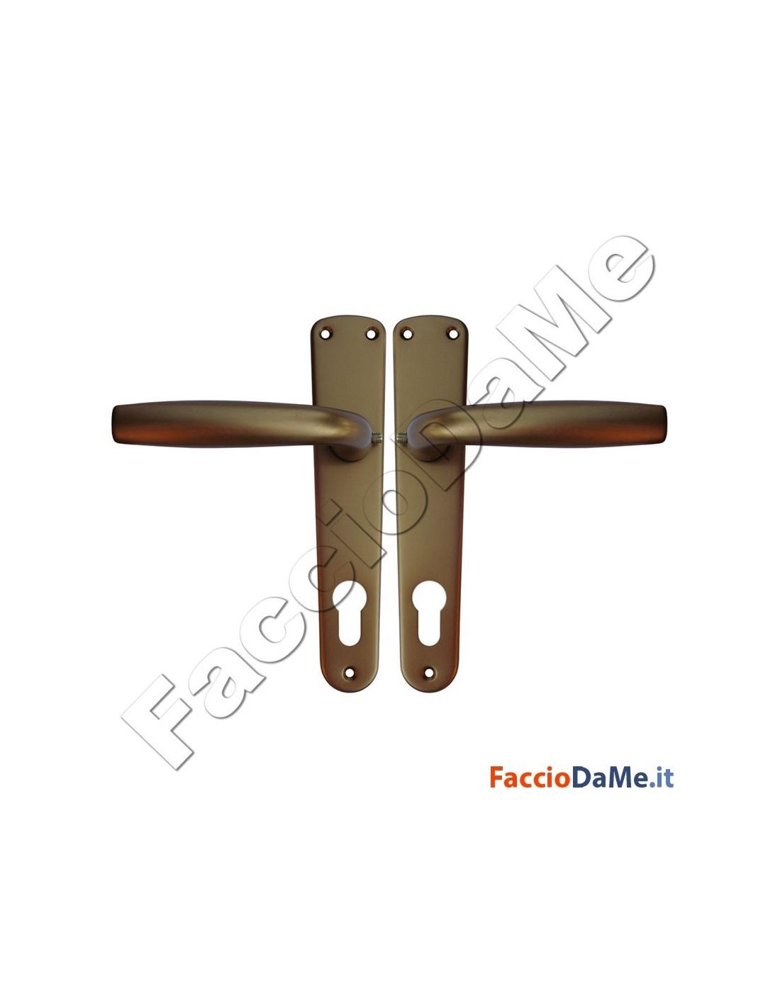 Maniglie cremonesi per porte e finestre serie standard in for Finestre anodizzate
