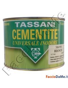 Cementite Tassani Universale Inodore Pittura Opaca Acrilica Colore Bianco 5060