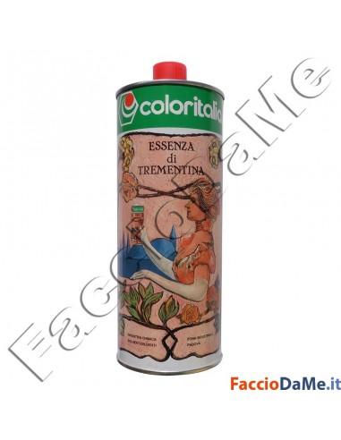 Coloritalia Essenza di Trementina Acquaragia Vegetale 1 litro 210