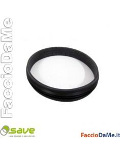 10 Guarnizioni Silicone Save per Tubi e Raccordi a Stufe Pellet Diametro 8cm