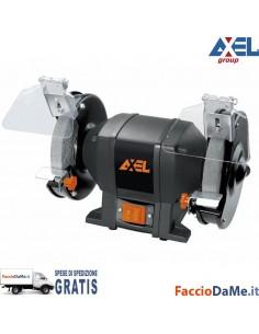 Smerigliatrice da Banco Doppia Mola da 150mm con Maniglie Trasporto Axel MT1055