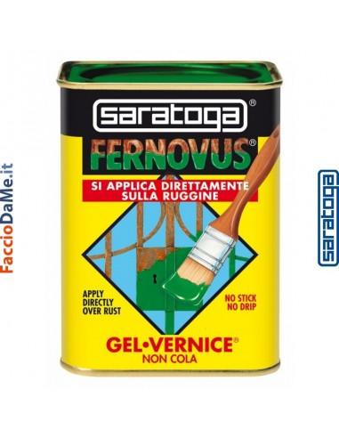 Saratoga Fernovus Gel Vernice Non Cola Si Applica sulla Ruggine Vari Colori 750ml