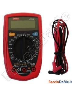Tester Digitale Palmare Display Lcd con Puntali e Batteria Uni-T UT33