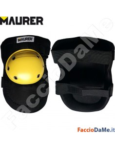 Ginocchiere con Base Rotante per Muratore Piastrellista Edilizia Maurer 93054