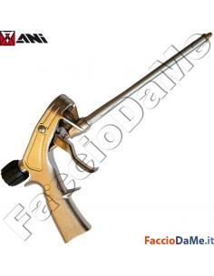 Pistola per Schiuma Poliuretanica Poliuretano Ani A218 con Adattatore Universale