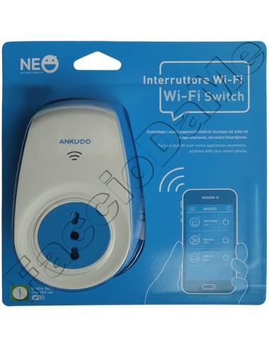 Interruttore Wi-Fi Switch Ankuoo Neo Controllo da Remoto con lo Smarthphone