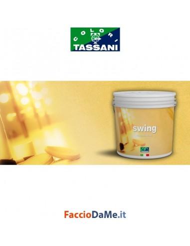 Effetto Decorativo Tassani SWING Sabbiato Fine Finitura Acqua BASE ORO 2,5 litri