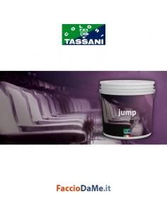 Effetto Decorativo Tassani JUMP Sabbiato Finitura ad Acqua BASE ARGENTO 2,5 litri