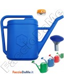 Annaffiatoio Innaffiatoio in Plastica con Nebulizzatore 4-6-9-12-17 litri ICS