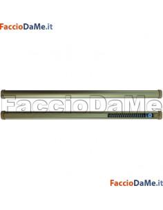 Bastone per Tenda a MOLLA OVALE Diametro 14mm FINITURA OTTONE Varie Misure