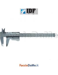 Calibro Ventesimale a Corsoio Composto a Pulsante 4 funzioni 150x40mm Idf