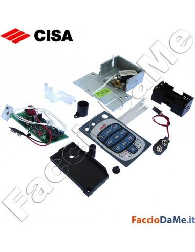 Set Kit di Conversione CISA da Casseforti Digit a Casseforti Digit Vision 6v