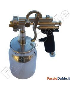Aerografo Spray Gun Asturo Serie IM 260 1000cc Serbatoio Inferiore Ugello a Scelta