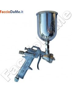 Aerografo Spray Gun Asturo Serie PRIMA 297 500cc Serbatoio Superiore in Alluminio