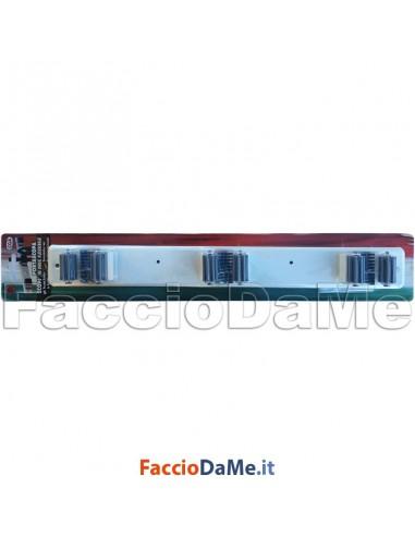 Portascopa portascope appendiscopa scop da muro in inox - Portascope da muro ikea ...