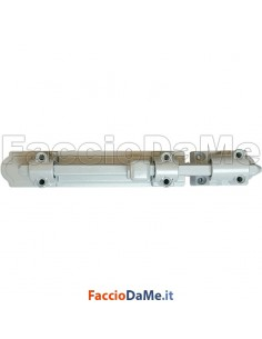 Catenaccio di Sicurezza per Spagnoletta Anta Doppia 225mm in Acciaio Agb