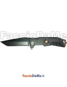 Coltello da Tasca Lama in Acciaio Inox Manico in Alluminio Ausonia 26553