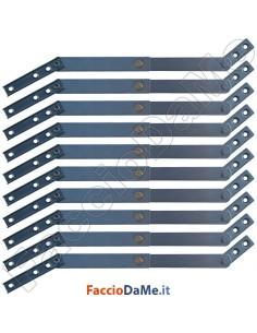 Fermafinestra Blocca Finestra Braccetti per Controfinestre Acciaio Inox 1 pezzo