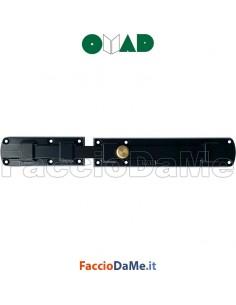 Catenaccio Orizzontale Trasversale Modello Smarty 7530-N in Acciaio Nero Omad