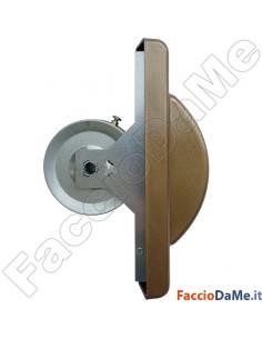 Avvolgitore a Semincasso per Serramenti Metallici da 6 a 10 mt Placca in Alluminio