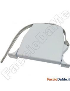 Avvolgitore Esterno Orientabile da 6mt Interasse 150mm con 5mt Cintino ABS Bianco