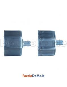 Calotta Normale Zincata Liscia o Nervata per Rullo Avvolgibili Diametro 60mm