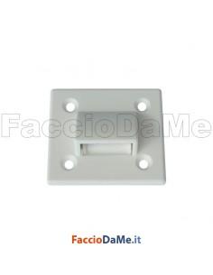 Guida Cinghie Guidacinghie per Cassonetti in Nylon Colore Bianco