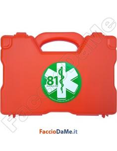 Valigetta Pronto Soccorso Gruppo A e B Allegato 1 DM 388-03 per Aziende Colore Arancio
