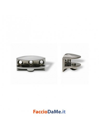 Morsetto Reggimensola Reggicristalli in Zama Finitura Oro Cromo Lucido Opaco RM04