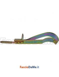 Fermascuri Fermaporte Fermaimposte a Molla con Fermo in Acciaio Tropicalizzato