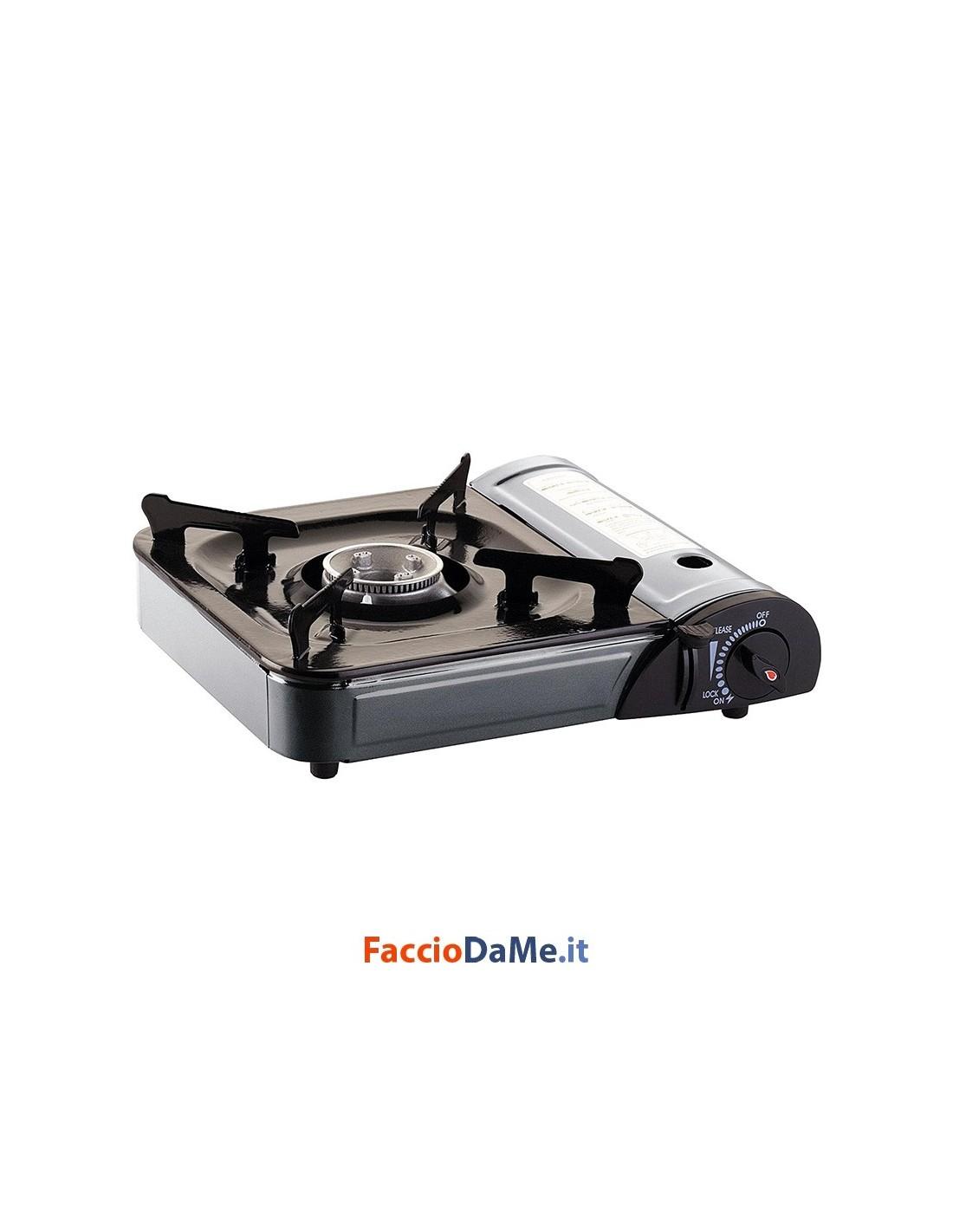 Fornello a gas portatile con valigetta campeggio picnic - Fornello ad induzione portatile ...