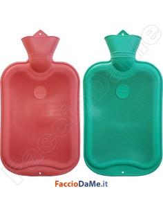 Borsa per Acqua Calda Bouillotte 2 litri di Qualità Colori Assortiti Mapa