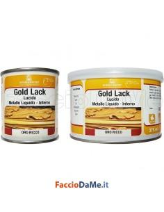 Porporina Colore Oro Doratura Gold Effetto Metallico Pronta all'uso Borma Wachs