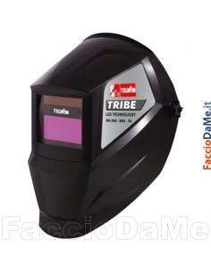 Maschera per Saldatura con Vetro Autoscurante Fisso MMA-MIG-MAG-TIG Tribe Telwin