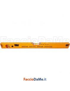 Livella a Bolla in Alluminio a 2 Fiale Mod. Professionale Vola 247 Varie Misure