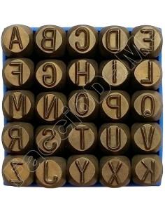 Punzoni in Acciaio Lettere 8 10 mm Alta Qualità Professionale