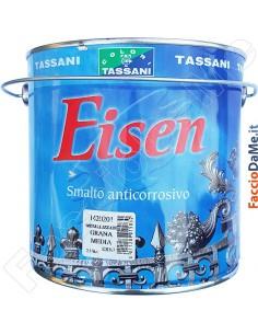 Smalto Anticorrosivo Eisen per Ferro Ringhiere Confezione da 750ml Tassani 1420