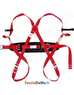 Imbracatura Dorsale Sternale + Cintura Posizionamento Akrobat Industrial Starter AK005