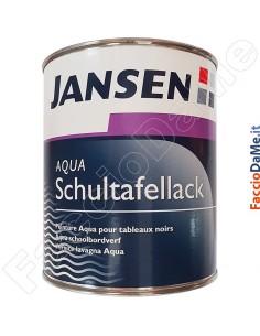 Pittura Colore Lavagna all'acqua Aqua Schultafellack Jansen Colore Nero 750 ml