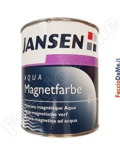 Pittura Colore Magnetica Aqua Magnetfarbe Jansen Bianco Calamita Confezione 750 ml