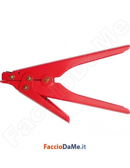 Pinza per Serraggio Fascette in Nylon Taglio con Leva Max 9,5 mm di Larghezza