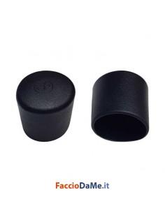 Puntale Puntali Tappi Calzanti Esterni in PVC Colore Nero Confezione da 50 pezzi