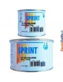 Stucco Mastice T44 Tixo per Marmo e Pietre con Induritore Giallo Sprint Icr 125 500 ml