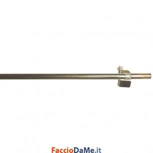 Bastone per Tende Bris Tondo Liscio a Molla EA650 Colore Oro Diametro 10 mm