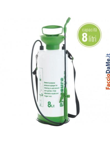 Pompa a Pressione a Spalla per Irrorazione Piante 8 litri Jenny Verdelook 909-7