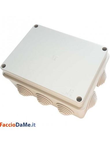 Cassetta Scatola Stagna di Derivazione con Passacavi IP55 Varie Misure