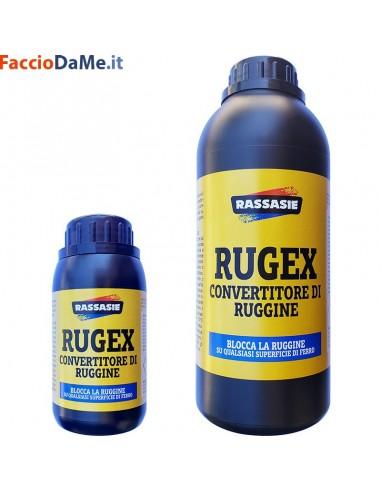 Rugex Attacca Converte la Ruggine e la Distrugge Elimina Toglie Atossico Rassasie