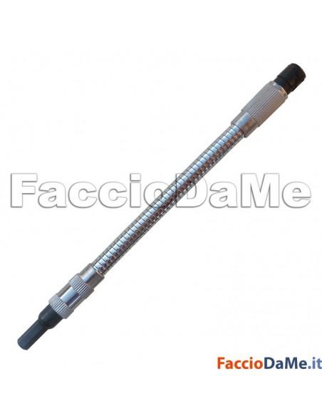 Porta Inserti Magnetico Flessibile Snodabile per Inserti con Attacco Esagonale